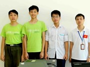 Vietnam reaps best results at Int'l Informatics Olympiad