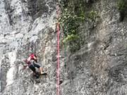 Rock climbing contest to be held in Phong Nha-Ke Bang