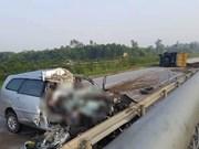 Car crash kills three RoK nationals
