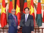 Vietnamese PM, Bangladeshi President talk trade ties