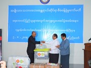 ASEAN supports flood victims in Myanmar