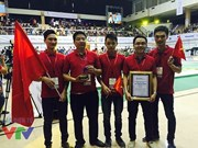 Vietnam triumphs at Asia-Pacific robot contest for fifth time