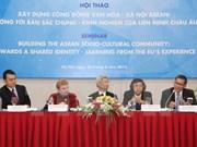 ASEAN, EU share experiences in community development