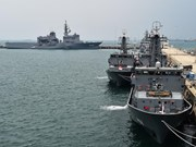 Joint naval exercise takes place in Singapore