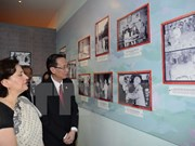 Exhibition on Vietnam - India friendship opens in HCM City