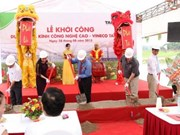 VinEco builds greenhouse in Vinh Phuc