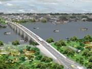 Construction begins on bridge on key border road