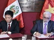 Vietnam, Peru boost trade and economic cooperation