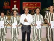 Hanoi detention camp frees nearly 300 prisoners