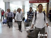 Number of workers overseas up by 8 percent
