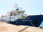 Mid-speed ship shortens travel time to Phu Quy island