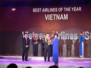 Vietnam Airlines receives service national excellence award