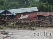 Torrential rains lead to serious flooding in Laos