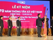 Vietnam News Agency marks 70th founding anniversary