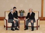 Japan's royal family supports cooperation with Vietnam