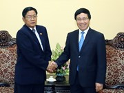 Deputy PM welcomes Myanmar anti-corruption official