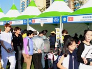 Vietnam attends Global Gathering Festival in Busan