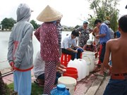 Mekong Delta faces acute fresh water shortage