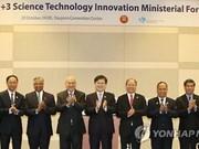 ASEAN+3 science ministers meet in RoK