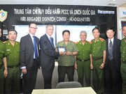 National fire brigades dispatch centre unveiled in Hanoi