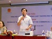 Revised Commercial Law to be in line with economic integration