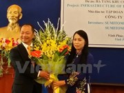 Japanese group expands operation in Vinh Phuc