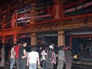 Nearly 20 killed at karaoke bar blaze in Indonesia