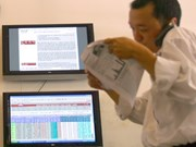 Vietnamese shares extend losses for third day