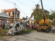 Number of accidents in Vietnam down 11 percent