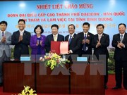 Binh Duong province, Daejeon city solidify collaboration