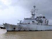 French naval ship visits Da Nang