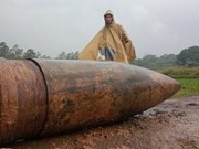 Artillery shell defused in Quang Tri province