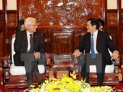 Vietnamese, Italian Presidents concur in ways to reinforce ties