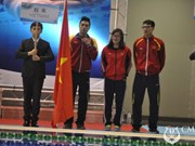 Vietnamese divers pocket three golds at Asian champs