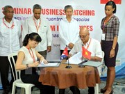 Vietnam inks 2-mln-USD deals in Cuban trade fair