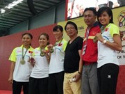 Vietnam win bronze medal at Petanque Championship
