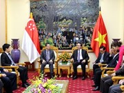 Vietnam, Singapore cement ties in crime fight, security