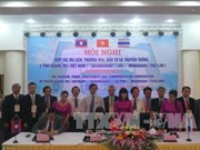 Localities of Laos, Thailand, Vietnam to facilitate links