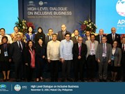 APEC high level dialogue on inclusive business opens in Philippines