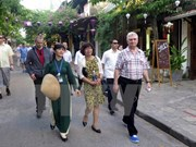 Czech Senate President visits central Quang Nam province
