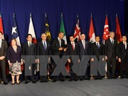 Leaders vow to bring TPP pact into force soon