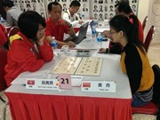 Yen wins silver at Chinese Chess Championships