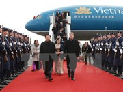 President arrives in Berlin, starting State visit
