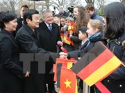 German press spotlights Vietnam President visit