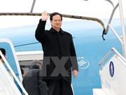 PM arrives in Paris for UN climate change conference
