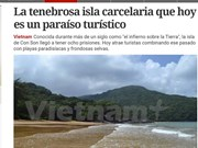 Argentine newspaper spotlights Con Dao Islands