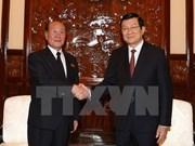 State President greets DPRK prosecutor