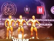 Vietnam win bodybuilding championship gold medals