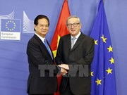 Press statement by Vietnamese PM and EU leaders