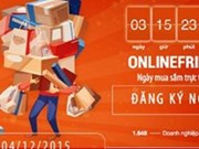 Consumers eager for online shopping spree